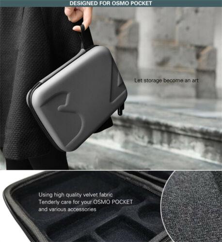 Waterproof Mini PU Storage Bag Carry Travel Case For DJI OSMO POCKET Camera