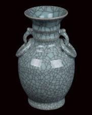 China 20. Jh. A Chinese Ge Type Baluster Vase - Vaso Cinese Chinois Jarrón Chino
