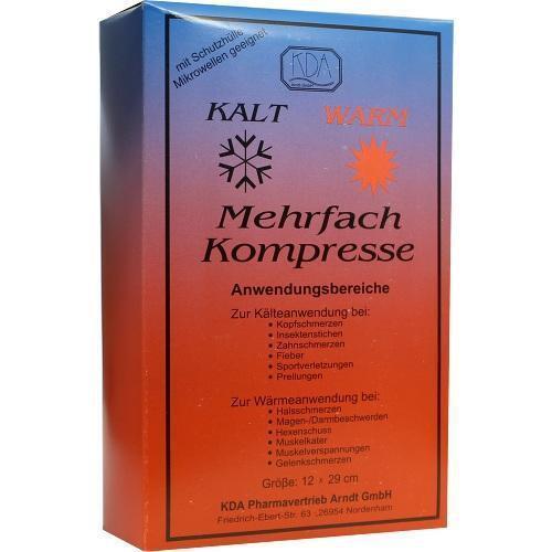 MEHRFACH KOMPRESSE 12x29 cm KDA 1 St PZN 6331169