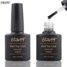 Elite99 Matte Top Coat Soak off UV LED GEL Polish Nail Matting Sealer 10ml 1pc
