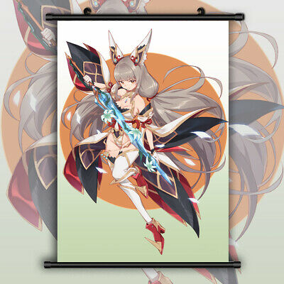 Xenoblade Chronicles 2 Pneuma Anime Wallscroll Poster Kunstdrucke Bider Drucke