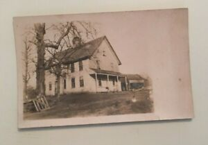 VINTAGE-POSTCARD-UNUSED-FARM-HOUSE