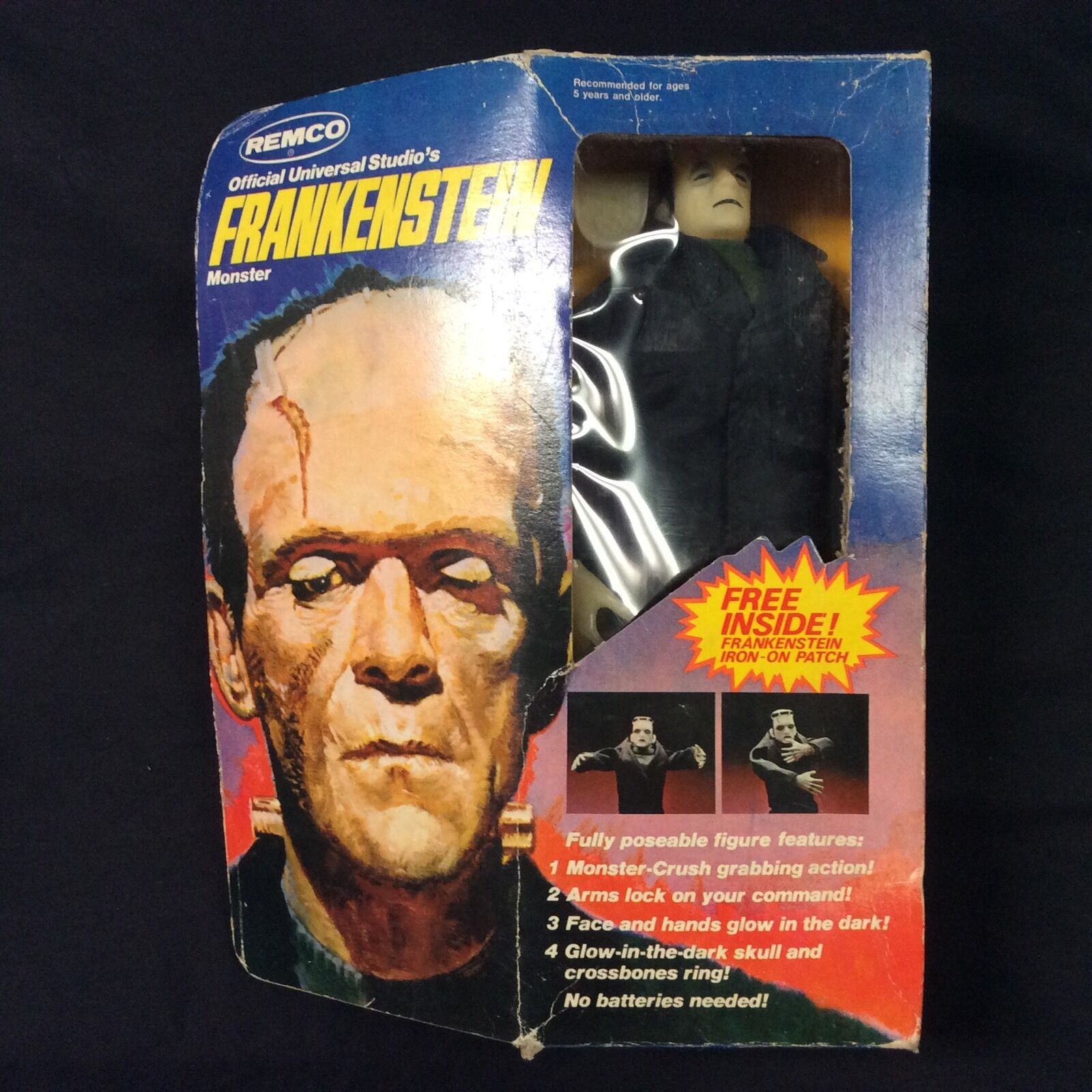 Remco Frankenstein Vintage In Box 1980