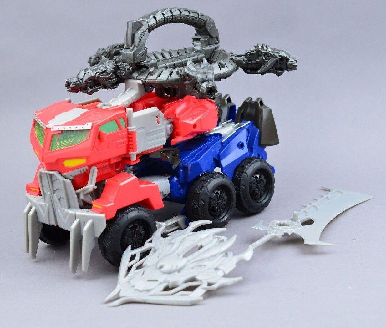 Transformers Beast Hunters Optimus Prime Dragon Assault Ultimate Leader
