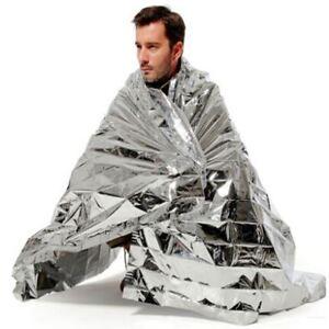 Nouveau Grand Bleu Lion d/'urgence thermique Foil Blanket Survival First Aid Camping