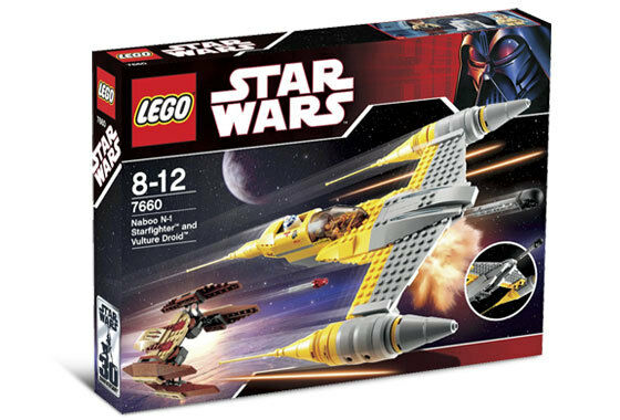 NEW Lego STAR WARS 7660 Naboo N-1 Starfighter