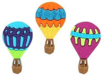 Dress It Up Buttons ~ Hot Air Balloons 6969 ~ Sewing ~ Scrapbook Jesse James