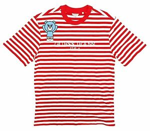 c78aae824a1454 Image is loading Guess-x-Asap-Rocky-Red-Stripes-T-shirt