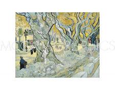 "VAN GOGH VINCENT - THE ROAD MENDERS, 1889 - ART PRINT POSTER 11"" X 14"" (445)"