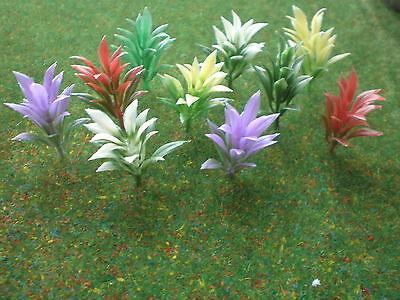 10 Stk. Blumen Blumenpflanzen  4 cm hoch Landschaftsbau