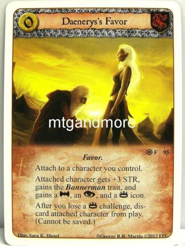 Forgotten Fellowship A Game of thrones lunaires 1x Daenerys /'s Favor #095