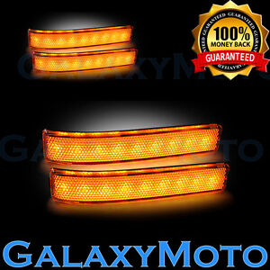09-14-FORD-F150-Mirror-LED-Light-Turn-Lights-LED-AMBER-Lens-Replacement-Set