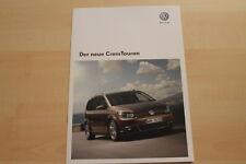 73237) VW Touran CrossTouran Prospekt 08/2010