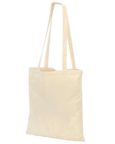 3 Colours Unisex Shugon Guildford Cotton Shopper//Tote Shoulder Bag