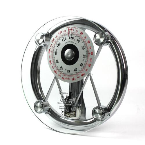 Mechanische Personenwaage Doktorwaage analoge Waage Retro Stil 120kg//1kg DE