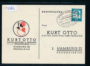 100% Vrai 29803) Sylt, Bahnpost Ovalstempel Hambourg-westerlind Train 134 L, Kte 1963-afficher Le Titre D'origine