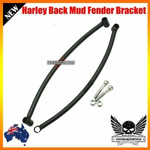 Motorcycle-back-mud-guard-fender-support-bracket-Harley-chopper-bobber-custom