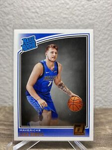 Luka Doncic 2018-19 Donruss (not Optic) Rated Rookie Mavericks RC #177 Invest