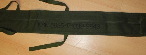 US Army Antenna Bag Antennentasche 180 cm x 15 cm Vietnam Korea Ära Canvas
