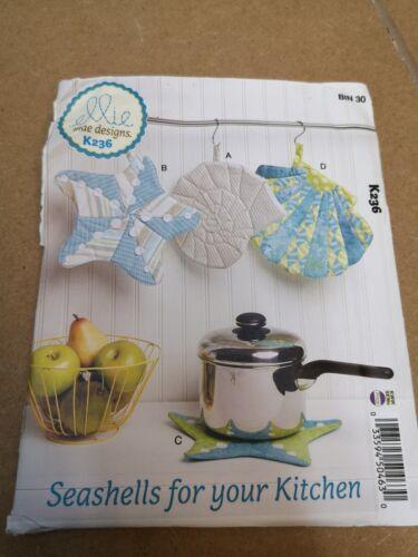 Ellie Mae Designs K236 potholder sewing pattern