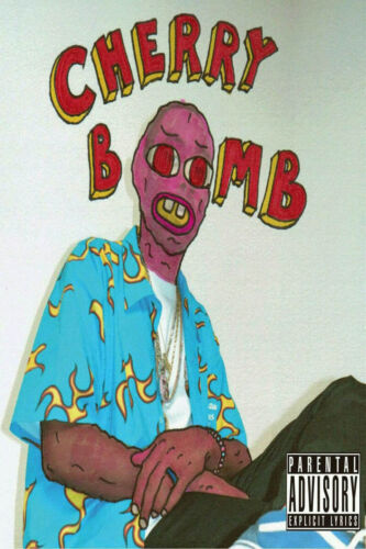Art Poster Tyler The Creator Cherry Bomb Cover Album 20x30 24x36 T333