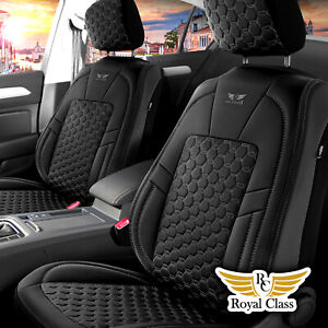 Auto Schonbezug für Renault Captur in Schwarz