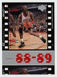 9631dedf5c8 Michael Jordan 1998 Upper Deck Timeframe23 88-89 SCORING CROWN AND ...