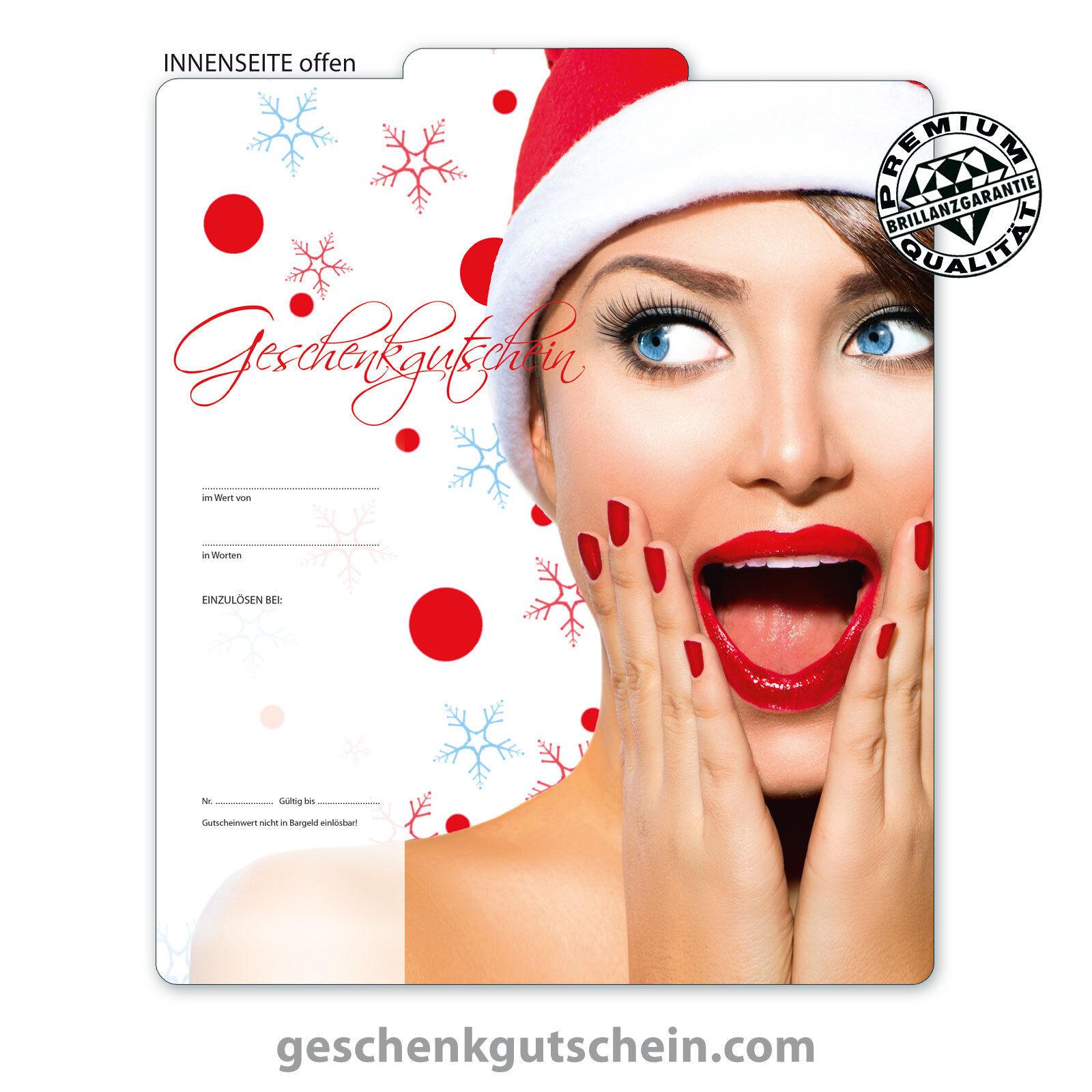Premium Weihnachts-Gutscheine  MultiFarbe  für alle Branchen X271  | Komfort  | Qualitativ Hochwertiges Produkt