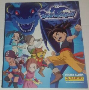 Blue-Dragon-Album-Vuoto-Panini-Italia