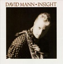 Insight by David Mann (Sax) (Cassette, Feb-1989, Antilles)