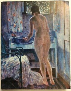 Morning-Toilet-Frederick-Carl-Frieseke-Art-Print-On-Board-FoundArtShop-com
