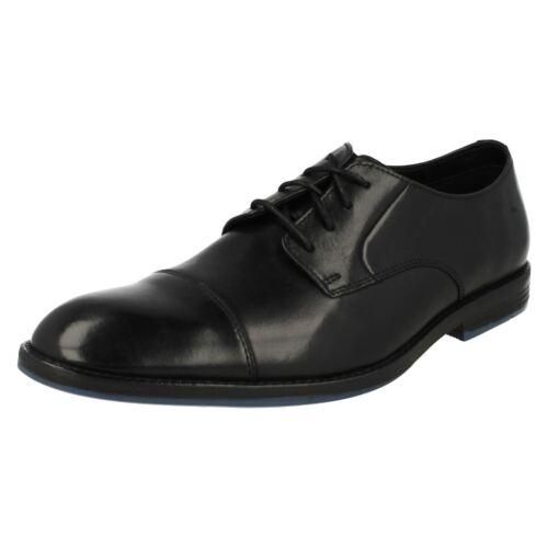 con Prangley Zapatos para cordones hombre Cap Clarks Black BnSzWS6U5
