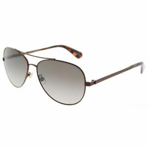 a80770907ae92 Kate Spade Avaline 2 S WR9 Brown Havana Aviator Sunglasses Brown ...