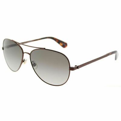 Brown Kate Spade Avaline Aviator Fashion Sunglasses Gradient Len Women Glasses