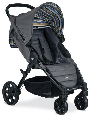 Britax Pathway Lightweight One Hand Fold  Single Baby Stroller Crew NEW 2018