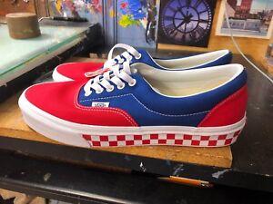 1dbc4a62550441 Vans Era (BMX Checkerboard) True Blue Red Size US 11.5 Men s ...