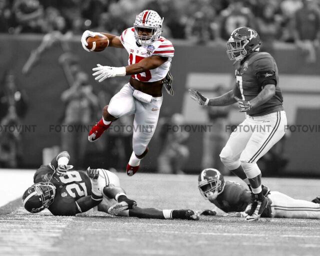 Ezekiel Elliott Ohio State Buckeyes NCAA Action Photo Size: 8 x 10