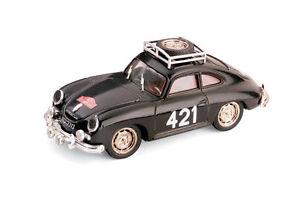 PORSCHE-356-COUPE-RALLY-MONTECARLO-1952-BRUMM-SCALA-1-43-S020-BRUMM-LIMITED