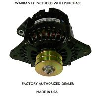Marine Alternator Leece Neville 180 Amps With Dual Pulley