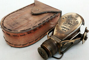 Antique-Brass-Monocular-Binocular-Telescope-Vintage-Nautical-Spyglass-Scope