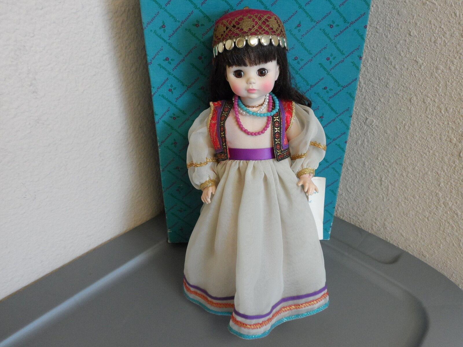 Madame Alexander Muñeca Vintage 1966 Salome 14  caja original y etiquetas de la serie de ópera