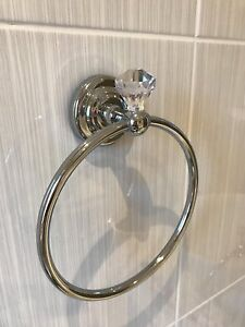 Sparkle-Crystal-Ball-Towel-Ring-Towel-Holder-Rail