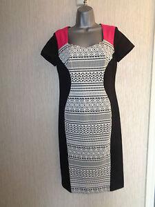BNWT-Ladies-039-It-039-s-My-Secret-039-Size-10-Multicoloured-Waist-Control-Dress-RRP-75