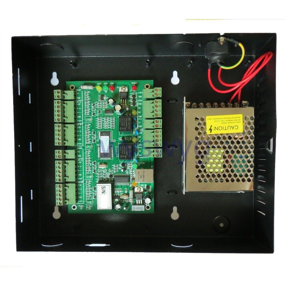2door TCP IP Rfid Ic de huellas digitales profesionales de asistencia de control de acceso 110-240v