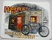 Harley Davidson Vintage Decal first Factory 1903 Milwaukee Panhead Brand
