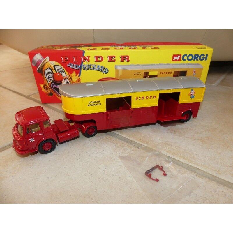 SAVIEM JL20 Semi Transport D'animeaux CIRQUE PINDER CORGI  70907 1 50