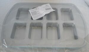 Pampered Chef MINI LOAF PAN - Bake 8 Gift Cakes or Make 8 Mini Meatloaves! Fun!