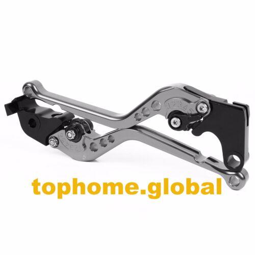 For Yamaha R3 2014-2020 R25 2015-2019 Long Clutch Brake Levers Grey CNC Adjust
