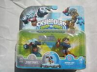 Skylanders Swap Force Night Shift & Boom Jet Nintendo Wii Xbox 360 Ps3