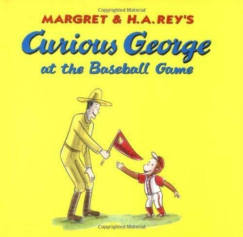 Curious George at the Baseball Game by Driscoll, Laura -ExLibrary